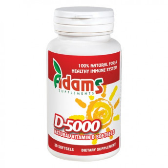 Vitamina D-5000 softgel 30 cps