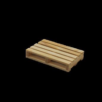 Suport pahare, lemn de brad, Mini Palet