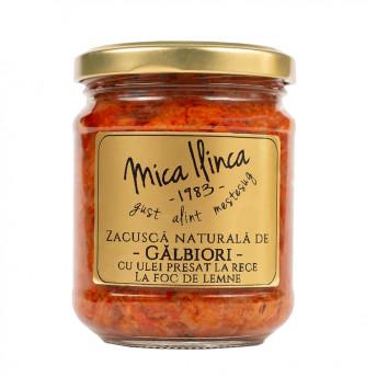 Zacusca de Galbiori 200 g - Mica Ilinca