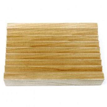 Sapuniera cu Zimti, din lemn de Hemu, 10,5 x 7 cm
