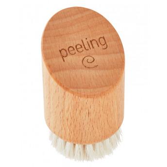Perie faciala, lemn de fag, peri naturali din coama de cal