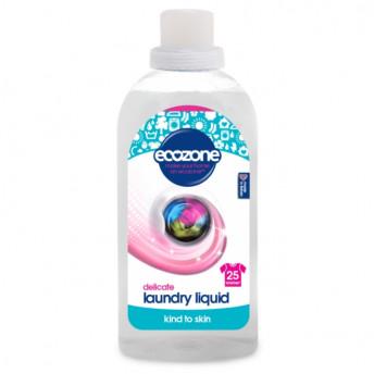 Detergent fara miros, pt. hainele bebelusilor si rufe delicate, Ecozone, 25 spalari, 750 ml