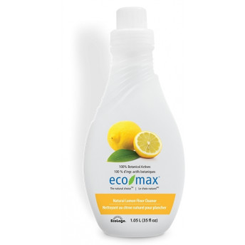 Solutie concentrata cu lamaie pt podele, lemn si parchet, Ecomax, 1.05 L