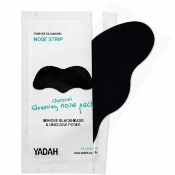 Plasture cu carbune pentru nas, pt indepartarea punctelor negre, 1 buc, Yadah