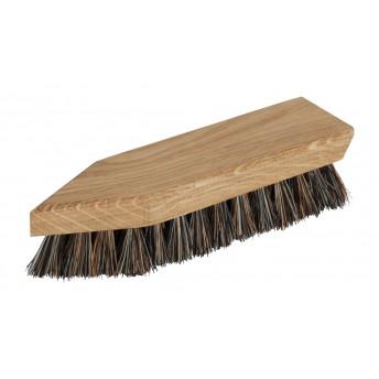 Perie din lemn de stejar si peri din Cocos si Tampico pentru curatat pantofi