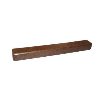 Suport periuta dinti pentru voiaj, lemn lichid, maro inchis