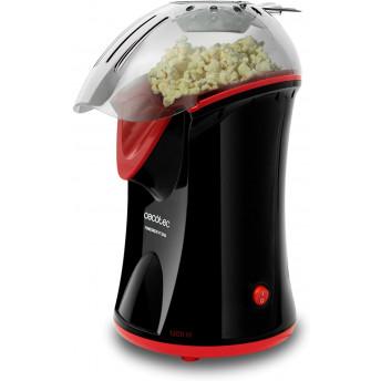 Aparat de facut popcorn, CECOTEC 3040 1200W, tehnologie bazata pe aer cald, preparare in max. 2 min, dozator boabe inclus