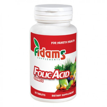 Acid Folic 400 mcg 30 tablete