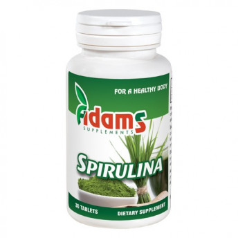 Alga Spirulina 400 mg 30 tablete