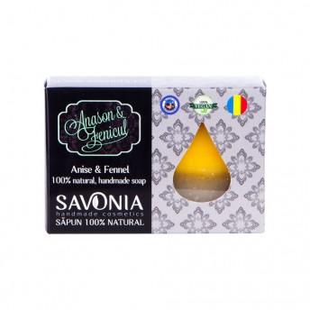 Sapun Natural cu Anason si Fenicul - Savonia