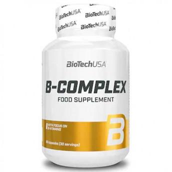 Supliment - B Complex 60tbl. BiotechUSA