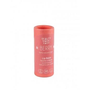 Balsam de buze zero plastic, Berry, Beauty Made Easy, 6 g