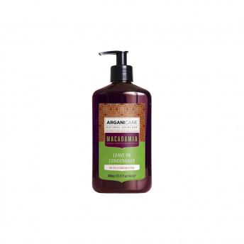 Balsam ultra hidratant fara clatire cu ulei de macadamia pentru par uscat si deteriorat, Arganicare, 400 ml