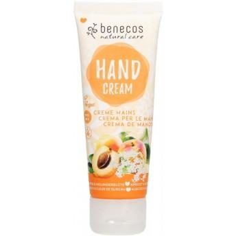 Crema de maini cu flori de soc si caise, 75 ml - Benecos