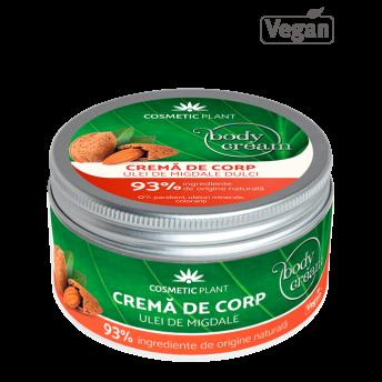 Crema corp cu Ulei de Migdale Dulci, 200 ml, Cosmetic Plant