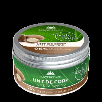 Unt de corp cu Ulei de Argan Bio, 200 ml, Cosmetic Plant