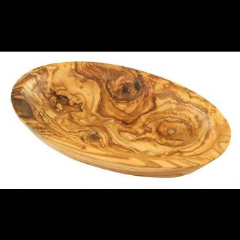 Bol Oval 12 cm, Lemn de Maslin, Premium