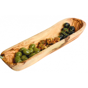 Platou pentru Servire din Lemn de Maslin, 30 cm