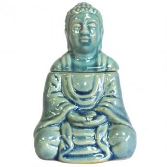 Vas Aromaterapie Meditating Buddha, albastru