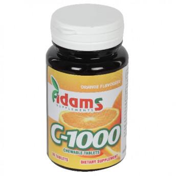 C-1000 30 tablete, aroma de Portocale