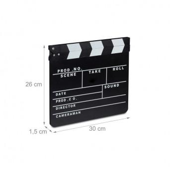 Clapeta pentru film, 30x26 cm