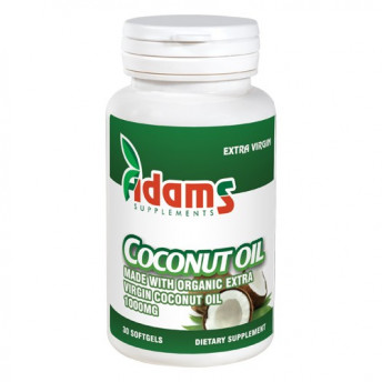 Coconut Oil 1000 mg 30 cps