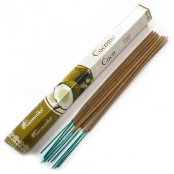 Betisoare naturale parfumate, Cocos - 20 buc.