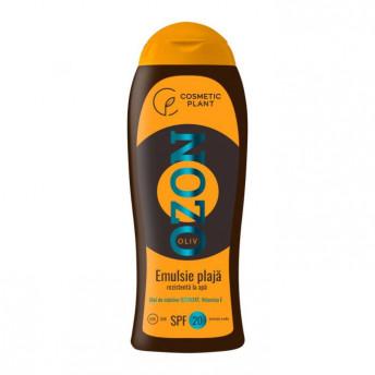 Emulsie plaja OZON SPF20 rezistenta la apa cu ulei de masline ozonizat, 200 ml