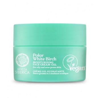 Crema-gel hidratanta cu mesteacan, ten gras sau acneic, 50ml - Polar White Birch