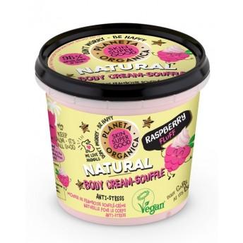 Crema-sufleu de corp Skin Supergood cu zmeura Raspberry Fluff, 360ml - Planeta Organica