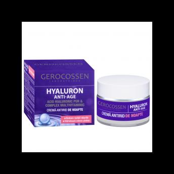 Crema antirid de noapte HYALURON ANTI-AGE, 50 ml, Gerocossen