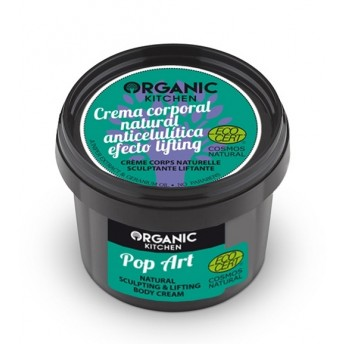 Crema corp lifting anticelulitica Pop Art, Organic Kitchen