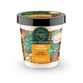 Crema de corp delicioasa Caramel Cappuccino, 450 ml - Organic Shop