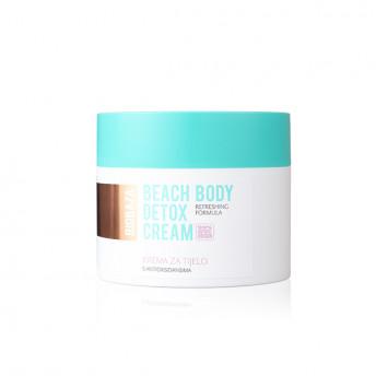 Crema de corp naturala detoxifianta cu efect energizant, Biobaza BEACH BODY, 250ml