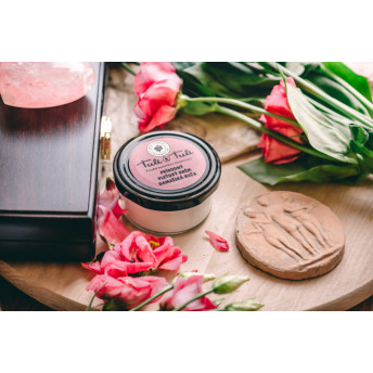 Crema 100% Naturala pentru fata, cu Trandafiri de Damasc, 50 ml, Tuli a Tuli