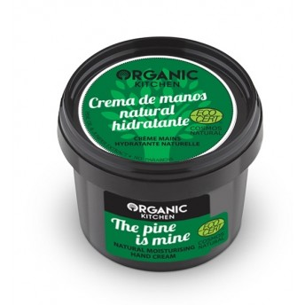 Crema de maini hidratanta cu pin si ienupar The Pine Is Mine - Organic Kitchen
