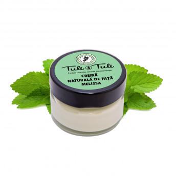 Crema 100% Naturala pentru fata, cu Melissa, 50 ml, Tuli a Tuli