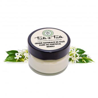 Crema 100% Naturala pentru fata, cu Neroli, 50 ml, Tuli a Tuli