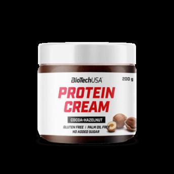 Crema Proteica - Protein Cream 200gr cocoa-hazelnut Biotech USA