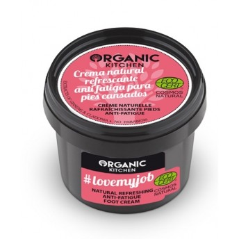 Crema revigoranta pentru picioare obosite #lovemyjob -  Organic Kitchen