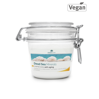 Crema corp anti-aging cu minerale de la Marea Moarta, 200 ml, Cosmetic Plant