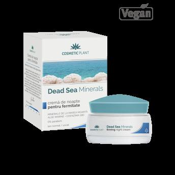 Crema de noapte pentru fermitate cu minerale de la Marea Moarta, 50 ml, Cosmetic Plant