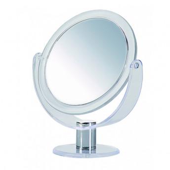 Oglinda cosmetica dubla, Marire 10X