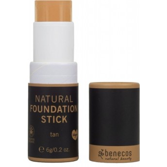 Foundation stick bio, Tan (inchis) - Benecos