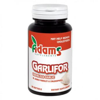 Garlifor 500 mg 60 cps, Usturoi fara miros si Patrunjel