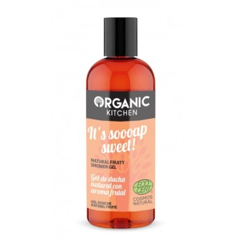 Gel de dus cu aroma de fructe It's Soooap Sweet! -  Organic Kitchen