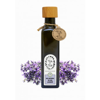 Gel de dus Natural cu Lavanda, 250 ml, Tuli a Tuli