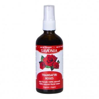 Trandafiri - Apa Florala Organica 100 ml, Savonia