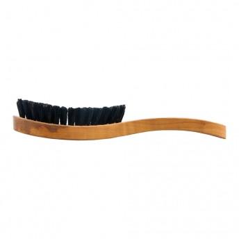 Perie par si barba, lemn de par, model military 3