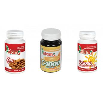 Set Vitamina C, Zinc si Vitamina D